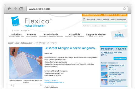 Création de sites E-Commerce - Magento Commerce