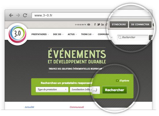 Création de sites Internet - optimisation de l'ergonomie d'un site Internet