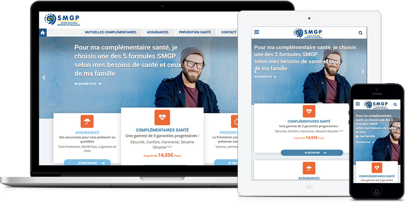 SMGP - Site E-commerce - par Agence web Paris - Coheractio